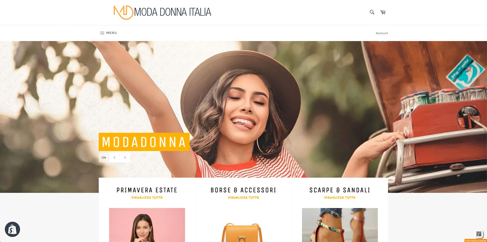 Moda Donna Italia